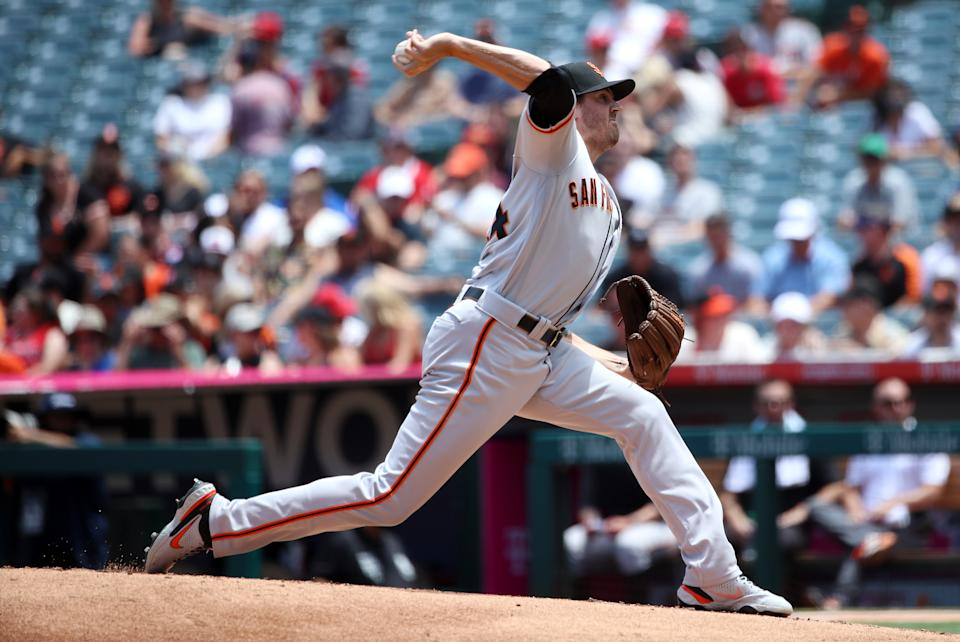 Kevin Gausman。(Photo by Katelyn Mulcahy/Getty Images)