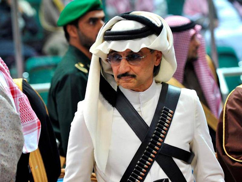 Prince Alwaleed bin Talal is among the Saudi royals under house arrest. (Reuters)