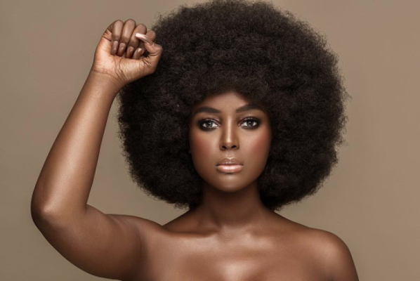Amara La Negra is a proud Afro-Latina woman using her platform to inspire others. (Photo: Joey Rosado)