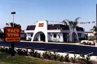 <p>Founded in 1953, Taco Vivo was a major player in the Mexican food scene back in the day. It eventually grew to 85 locations across 11 states. But after being sold and bought and sold and bought, the chain met its demise.</p>