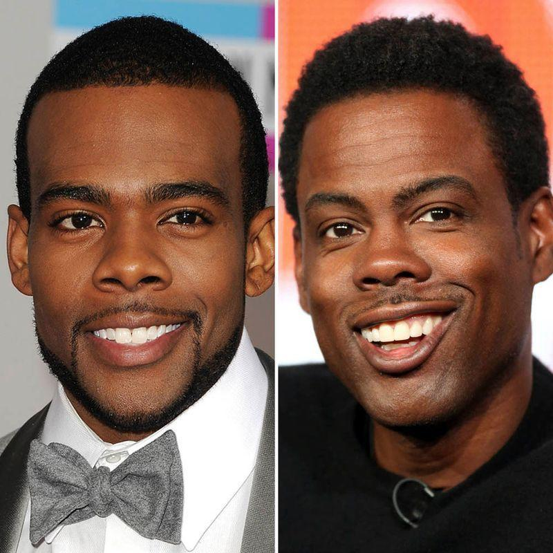 """<p>R'n'B Crooner Mario Dewar Barrett, better known by just his moniker, is aware that his celebrity lookalike is comedian, Chris Rock. </p><p><a href=""""https://www.youtube.com/watch?v=XuJ6aQOq8eg"""" rel=""""nofollow noopener"""" target=""""_blank"""" data-ylk=""""slk:In a 2018, interview"""" class=""""link rapid-noclick-resp"""">In a 2018, interview</a> the 'Let Me Love You' musician explains that while traveling the mix up happens at least 'twice' - he even goes as to far as to joke about whether he and Rock are truly related.</p>"""