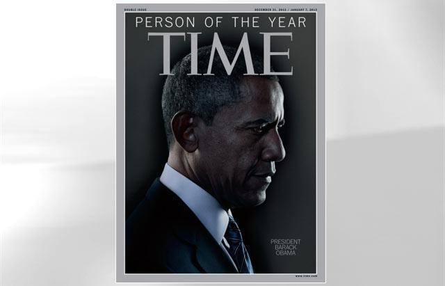 Obama Named Time's Person of the Year