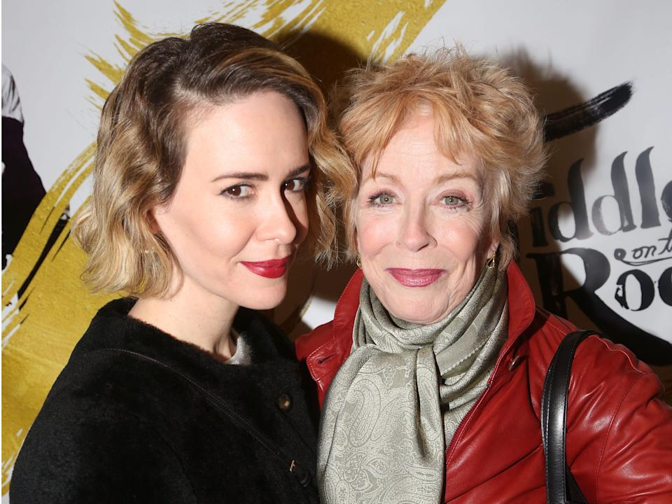 sarah paulson holland taylor fiddler on the roof