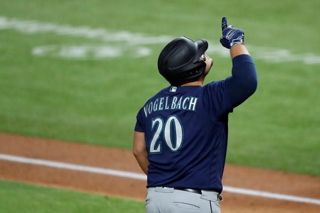 Mariners designate former All-Star Vogelbach for assignment