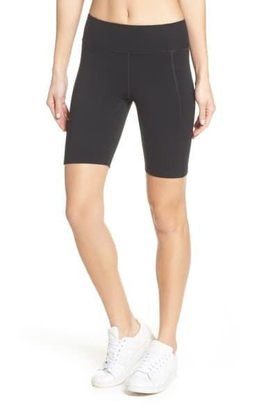 <p>Warmer temperatures or sweaty workouts call for these awesome <span>Girlfriend Collective High Waist Bike Shorts</span> ($48).</p>