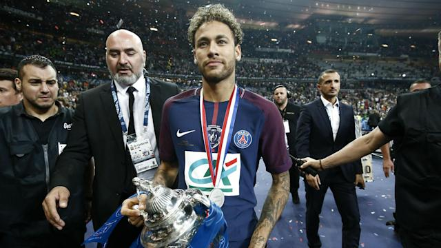 In a boost for Paris Saint-Germain and Brazil, the world's most expensive footballer will step up his recovery from foot surgery on Sunday