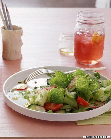"<div class=""caption-credit""> Photo by: Martha Stewart Living</div><div class=""caption-title""></div><b>Instead of Iceberg Lettuce try Romaine Lettuce</b> <br> You know iceberg lettuce is no nutritional star, but you love its crunch in salads, sandwiches, and tacos. Next time you shop, reach for romaine lettuce instead. It has the same crisp texture as iceberg, but with more than three times the folate and seven times the vitamin A, as well as more potassium and vitamins C and K. Like other leafy greens, romaine is rich in carotenoids, which studies show may inhibit the growth of certain cancers. <br> <b>Related: <a target=""_blank"" href=""http://www.marthastewart.com/275039/apple-recipes/@center/276955/seasonal-produce-recipe-guide?xsc=synd_yshine"">54 Savory and Sweet Apple Recipes</a> <br> <a target=""_blank"" href=""http://www.marthastewart.com/297026/quick-soup-recipes/@center/276948/dinner-tonight?xsc=synd_yshine"">Simple and Satisfying Soup Recipes</a></b> <br>"
