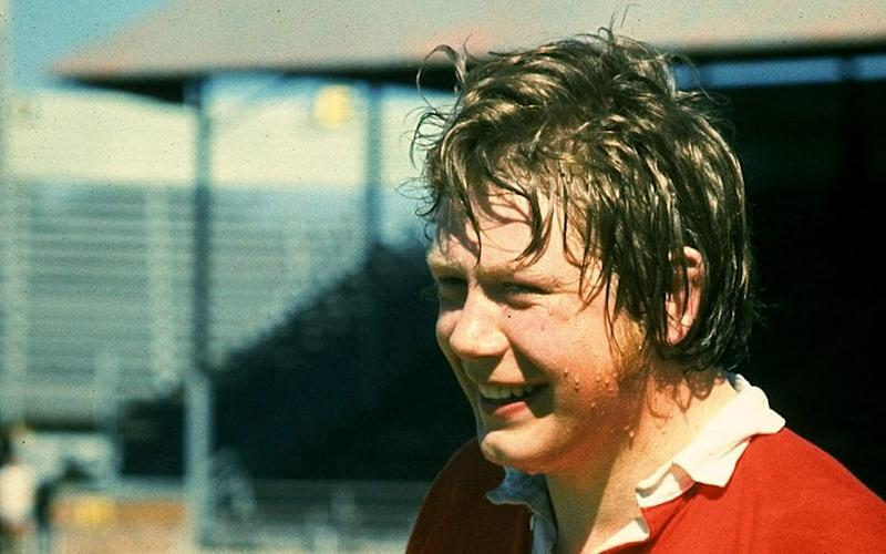 Lionhearted: Former Scotland and Lions lock Gordon Brown, better known as 'Broon frae Troon' - Allsport