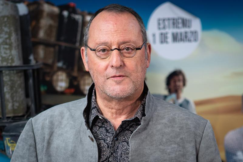 MADRID, SPAIN - FEBRUARY 28: French actor Jean Reno attends the '4 Latas' premiere at Paz Cinema on February 28, 2019 in Madrid, Spain. (Photo by Pablo Cuadra/Getty Images)