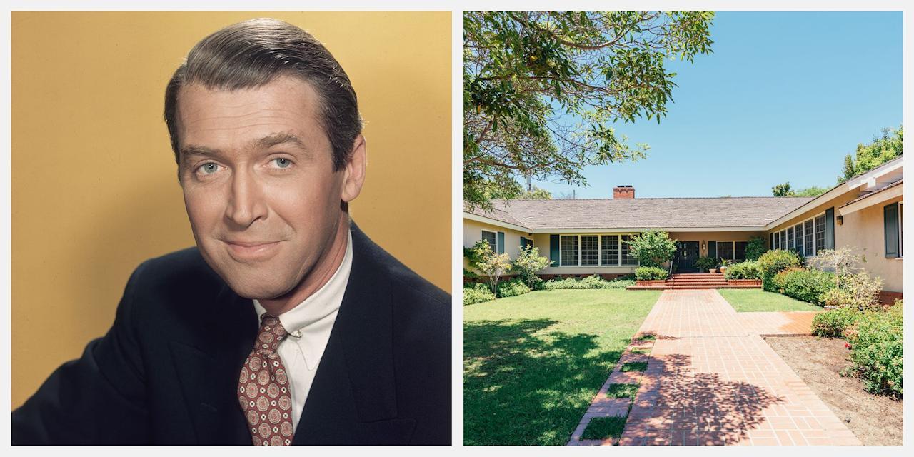 """<p>The Brentwood, Los Angeles home where Jimmy Stewart spent some formative bachelor years has just sold for the first time in 60 years. The late Hollywood star shared the home with actors Johnny Swope and Burgess Meredith in the 1940s. Stewart lived there for nine years, until he married model Gloria Hatrick McLean in 1949. It has been in the same family since the 1950s and was sold in a trust sale for $8.26 million, with an original asking price of $7.75 million. </p><p>While the interiors of the space are in great condition, sources have speculated that the specifics of the listing imply that a tear-down may be most desirable. The listing states, """"This trust sale offers just under 1/2 acre of flat land in one of the most premier and exclusive locations of Los Angeles."""" </p>"""