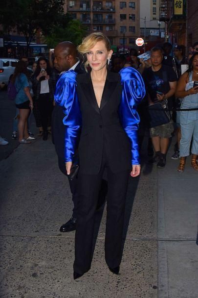 PHOTO: Cate Blanchett seen in Manhattan on August 12, 2019 in New York City. (Robert Kamau/GC Images/Getty Images)