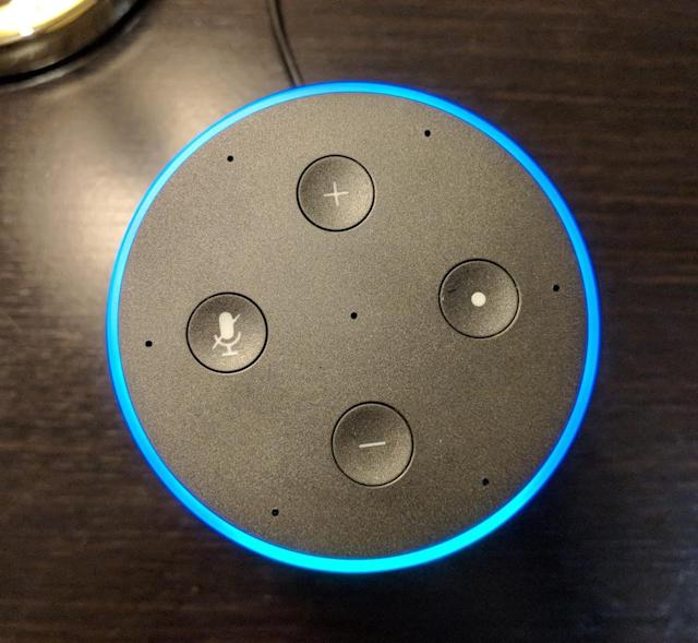 Amazon did away with the Echo's twisting top in favor of traditional volume buttons.