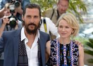 Matthew McConaughey and Naomi Watts attending The Sea of Trees Photocall taking place during the 68th Festival de Cannes held at the Palais de Festival, Cannes, France (Mandatory Credit: Doug Peters/EMPICS Entertainment)