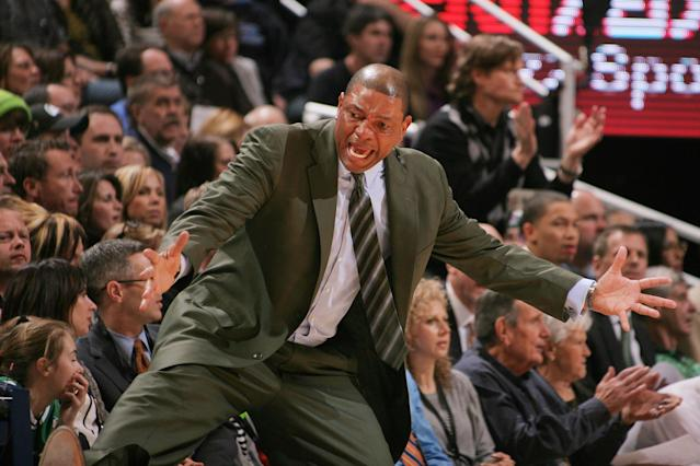 Doc Rivers, Boston Celtics (Photo by Melissa Majchrzak/NBAE via Getty Images)