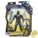 <p>Again, the artwork gives an idea of how Michael B. Jordan's rival will look in the film, with a supersuit very similar to the Panther's. $9.99 (Photo: Hasbro) </p>