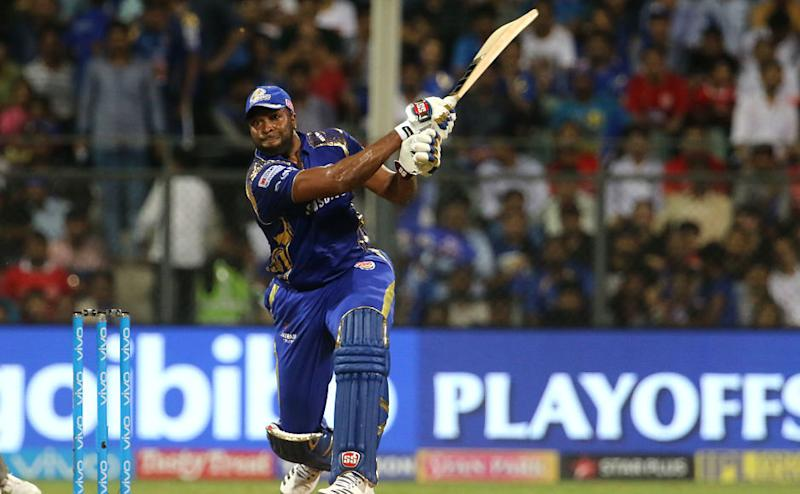 Mumbai Indians were 71 for four at one stage and it looked like they were going to fall on their faces flat but Kieron Pollard who was once again included in the playing XI lived up to his selection as he fired 23-ball 50 to take Mumbai Indians to a solid total of 186. Sportzpics