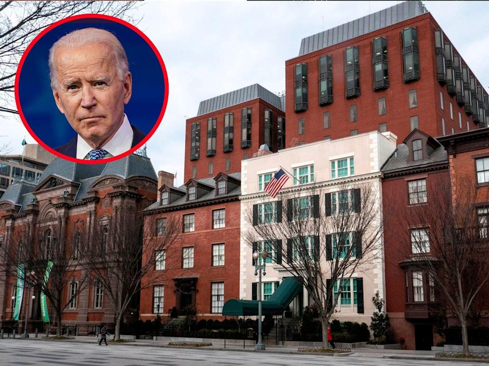 Joe Biden Blair House thumbnail
