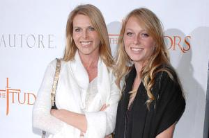 Catherine, left, and India Oxenberg