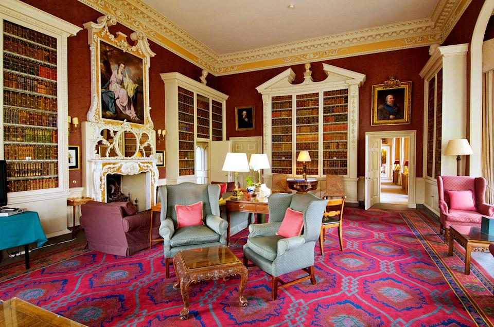The hotel boasts a number of wow-factor communal spaces [Photo: Hartwell House]