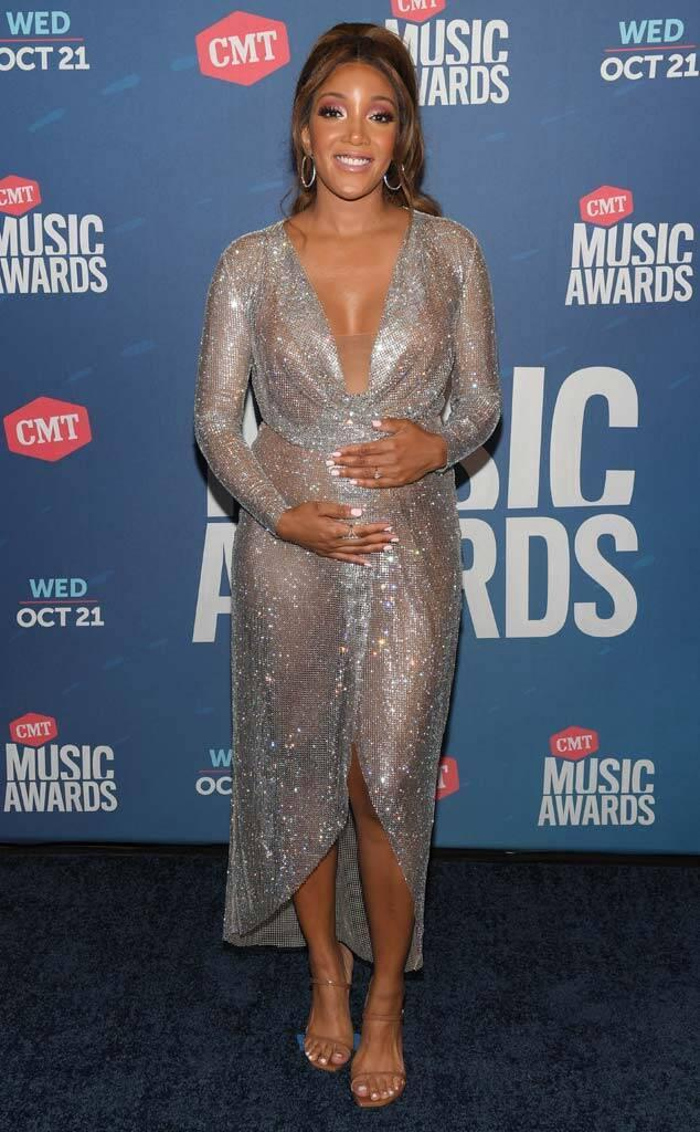 Mickey Guyton, 2020 CMT Awards, Red Carpet Fashion