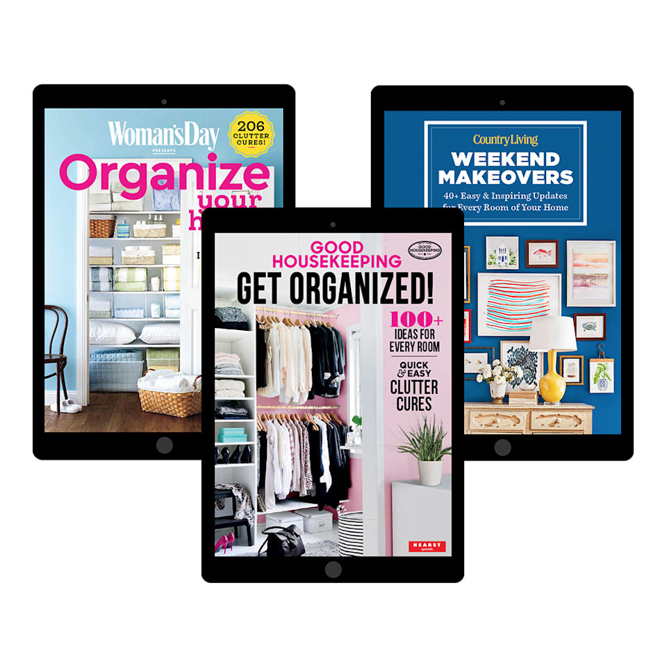 """<p>Discover brilliant ways to get organized, declutter, and make over any room. These downloadable digital guides make it easier than ever to give your home a refresh. Visit our store to find dozens of ideas from <em>Good Housekeeping</em> and our sister brands.</p><p><a class=""""link rapid-noclick-resp"""" href=""""https://shop.goodhousekeeping.com/for-the-home.html?source=_ed_GHK_SpringRefresh_8"""" rel=""""nofollow noopener"""" target=""""_blank"""" data-ylk=""""slk:SHOP NOW"""">SHOP NOW</a></p>"""