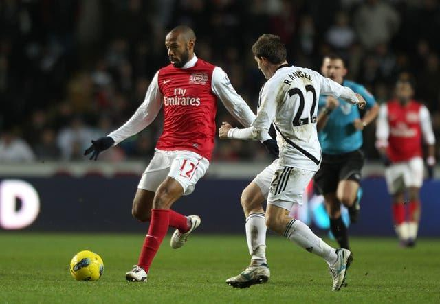 Thierry Henry won numerous honours during a successful playing career with Arsenal and Barcelona amongst other clubs