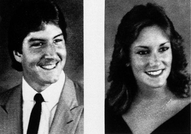 PHOTO: Manuel Taboada, left, and Tracy Paules, right, are seen in undated photos. The roommates and University of Florida students, were found dead Aug. 28, 1990, in their Gainesville, Fla. apartment. (AP)