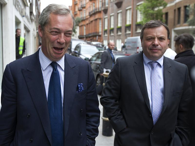 The Ukip donor intends to transform the party into a UK 'Five Star Movement' with radical policies from the left and right: Getty