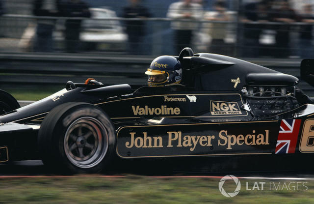 """Ronnie Peterson, Lotus 79-Ford <span class=""""copyright"""">LAT Images</span>"""