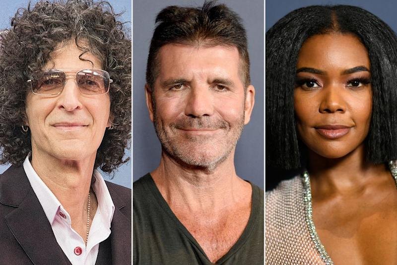 Howard Stern, Simon Cowell, Gabrielle Union | Debra L Rothenberg/FilmMagic; Gregg DeGuire/Getty; Frazer Harrison/Getty