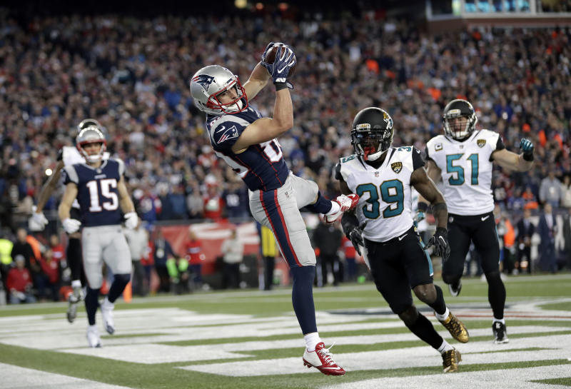 Jaguars vs. Patriots: Top Fantasy Bets, Predictions for 2018 AFC Championship