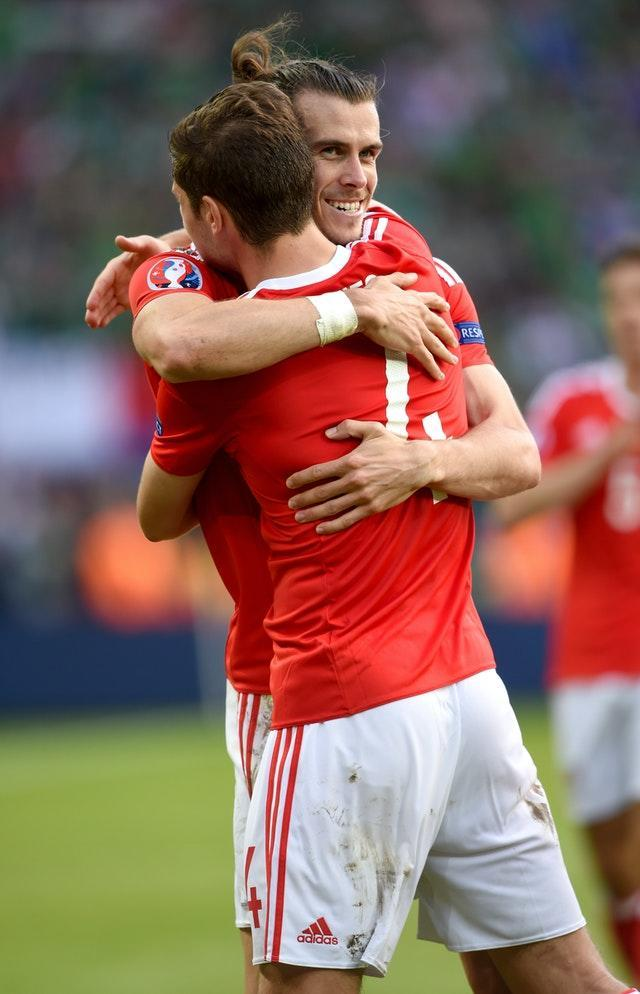 Gareth Bale and Ben Davies have enjoyed plenty of success together on the international scene with Wales