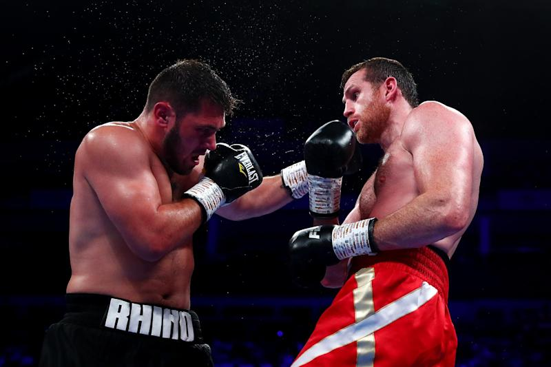 Before that, Allen was comfortably beaten by David Price in July 2019 (Getty Images)