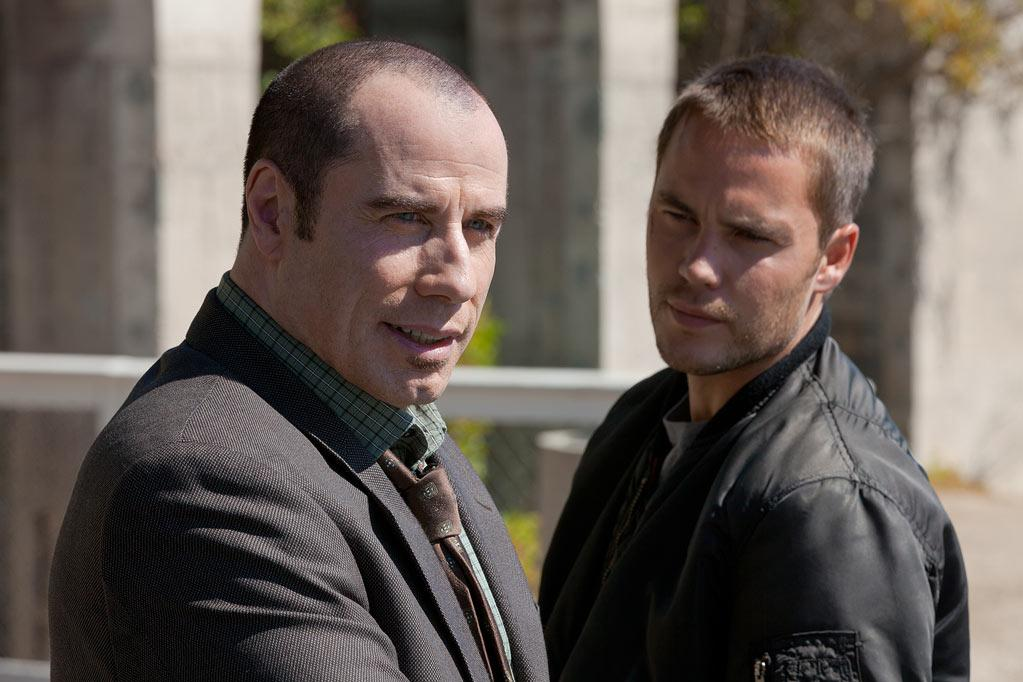 "John Travolta and Taylor Kitsch in Universal Pictures' ""Savages"" - 2012"