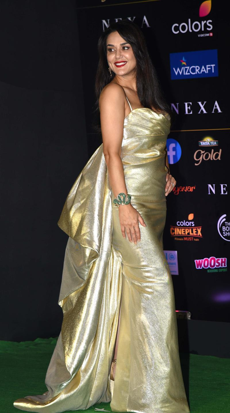 Preity Zinta at IIFA (Photo: SUJIT JAISWAL via Getty Images)