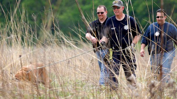 PHOTO: Joliet Police search Castle Rock State Park wetlands for evidence in Timmothy Pitzen's disappearance, May 19, 2011. (Chicago Tribune/TNS via Getty Images)