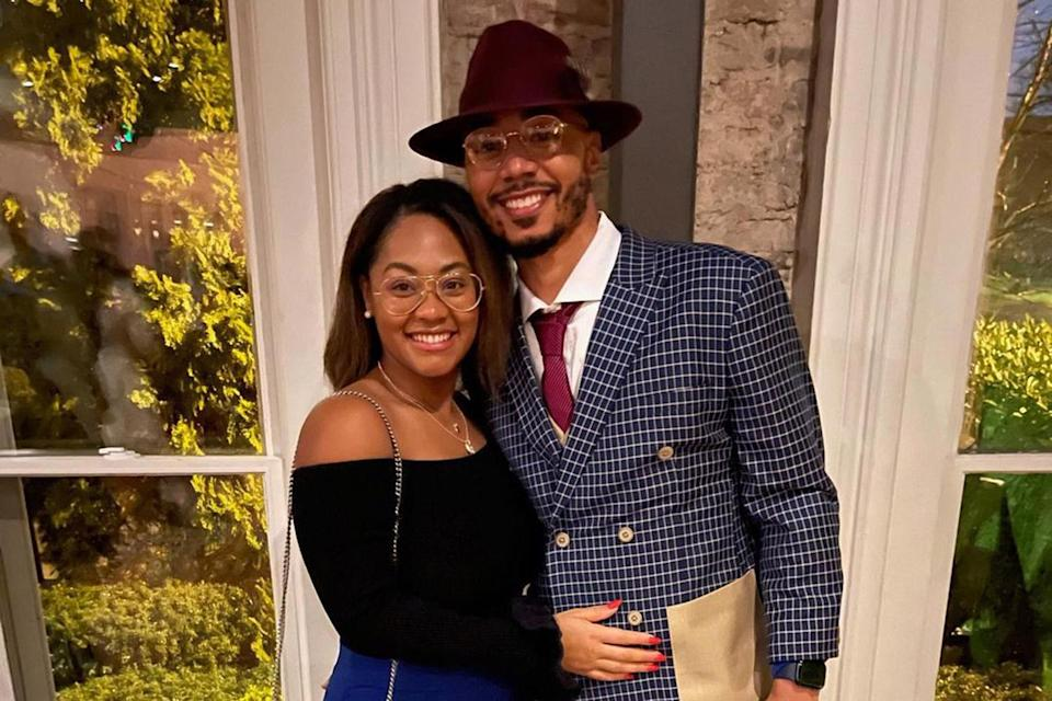 "<p>The Los Angeles Dodgers player <a href=""https://people.com/sports/mookie-betts-engaged/"" rel=""nofollow noopener"" target=""_blank"" data-ylk=""slk:proposed to his girlfriend"" class=""link rapid-noclick-resp"">proposed to his girlfriend</a> of 15 years, PEOPLE exclusively confirmed on Jan. 8.</p> <p>""Brianna has been by my side since we were teenagers,"" Betts, 28, told PEOPLE. ""Together we've grown mentally, physically, and spiritually. She is my best friend, mother of my child, my lover, and my soon-to-be wife. ""</p> <p>Hammonds, 26, and Betts met in middle school, in seventh and eighth grade, respectively. The couple shares one child together, a daughter they welcomed <a href=""https://people.com/parents/red-sox-mookie-betts-welcomes-daughter/"" rel=""nofollow noopener"" target=""_blank"" data-ylk=""slk:in November 2018"" class=""link rapid-noclick-resp"">in November 2018</a>.</p> <p>The athlete popped the question with a radiant cut, 7-carat diamond in Nashville, staging an elaborate ruse to surprise his girlfriend when he got down on one knee.</p> <p>Betts added, ""Winning another World Series was great, but putting a ring on my MVP is the real blessing! I am a blessed man.""</p>"