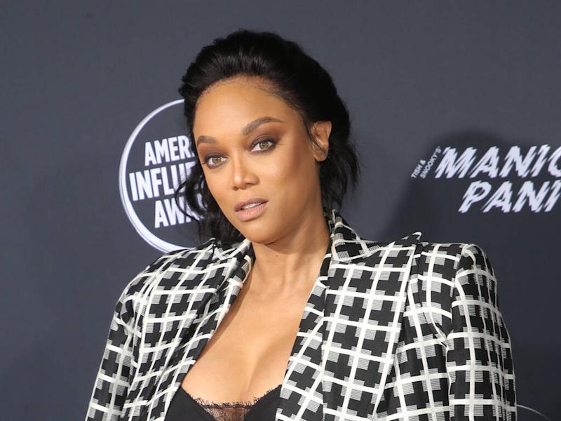 Tyra Banks pledges to fight 'oppression' in modelling industry