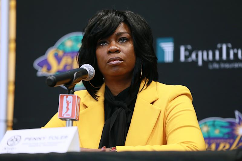 Penny Toler's tenure as Sparks GM has ended after two decades of work. (Photo by Leon Bennett/Getty Images)