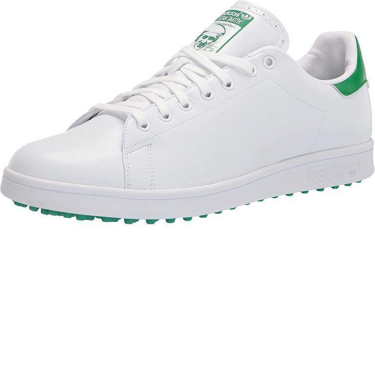 """<p><strong>Adidas</strong></p><p>amazon.com</p><p><strong>$149.91</strong></p><p><a href=""""https://www.amazon.com/dp/B08F6BVXQY?tag=syn-yahoo-20&ascsubtag=%5Bartid%7C10054.g.22141607%5Bsrc%7Cyahoo-us"""" rel=""""nofollow noopener"""" target=""""_blank"""" data-ylk=""""slk:Buy"""" class=""""link rapid-noclick-resp"""">Buy</a></p><p>Adidas doesn't miss with these special-edition Stan Smiths for <a href=""""https://www.esquire.com/lifestyle/g948/golf-gifts/"""" rel=""""nofollow noopener"""" target=""""_blank"""" data-ylk=""""slk:golfers"""" class=""""link rapid-noclick-resp"""">golfers</a>. The golfaissance is upon us.</p>"""