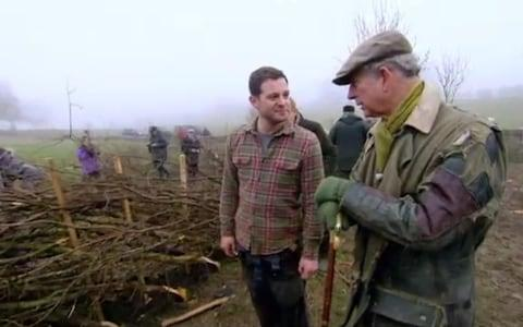 The Prince's much-mended jacket - Credit: Countryfile