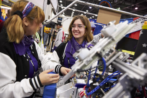 FIRST® Youth Robotics Teams and Global Brands Celebrate Innovation and STEM Inspiration at Record-Breaking Event in Detroit