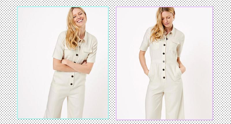 This M&S jumpsuit is a great addition to your spring wardrobe. (M&S/YahooStyleUK)