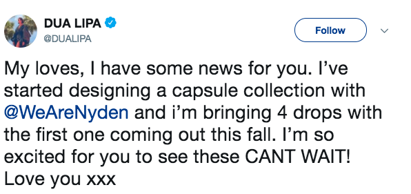 Dua Lipa angers fans for announcing 'universal' clothing line that stops at size 14 US