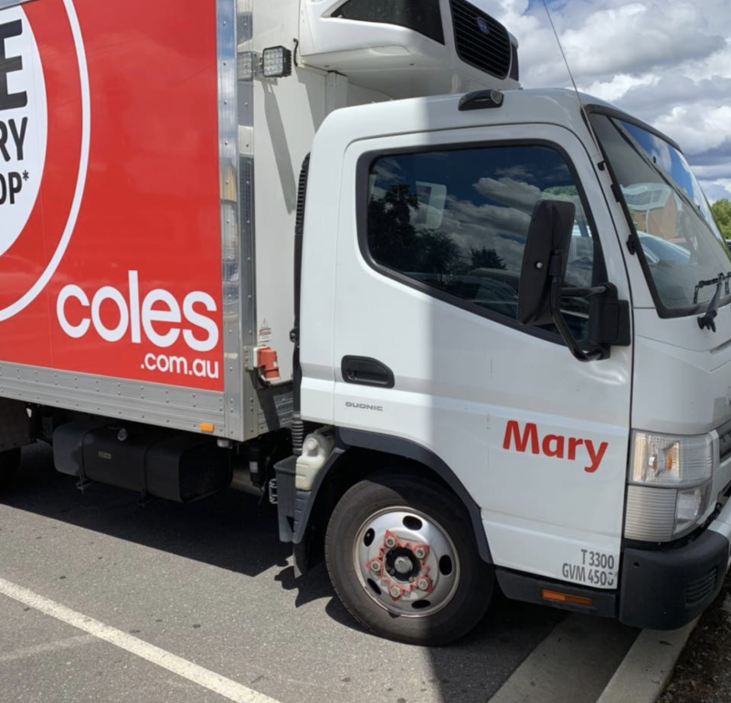 Coles has come under fire for a change to its online payment system for delivery orders. Source: Facebook
