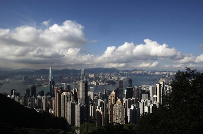 The Hong Kong skyline in June 2013. (Photo: Bobby Yip/Reuters)