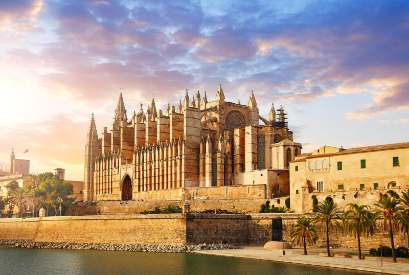 The Cathedral of Santa Maria of Palma in Mallorca [Photo: Getty]