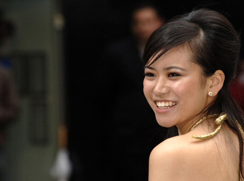 Actress Katie Leung arrives at the European Premiere of her new film 'Harry Potter and the Order of the Phoenix' at the Odean Cinema in Londons Leicester Square, Tuesday July 3, 2007 .(AP Photo/Anthony Harvey)