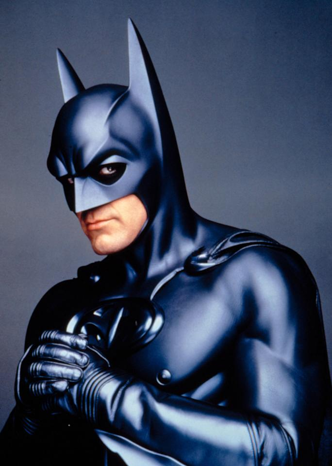<strong>George Clooney - Batman & Robin (1997)</strong><br><br>He's now Hollywood's favorite A-list charmer but there was a time when Clooney was struggling to turn his success on ER into a movie career and seriously missed the mark as the caped crusader in director Joel Schumacher's campy take on the franchise. Two words: Bat nipples.