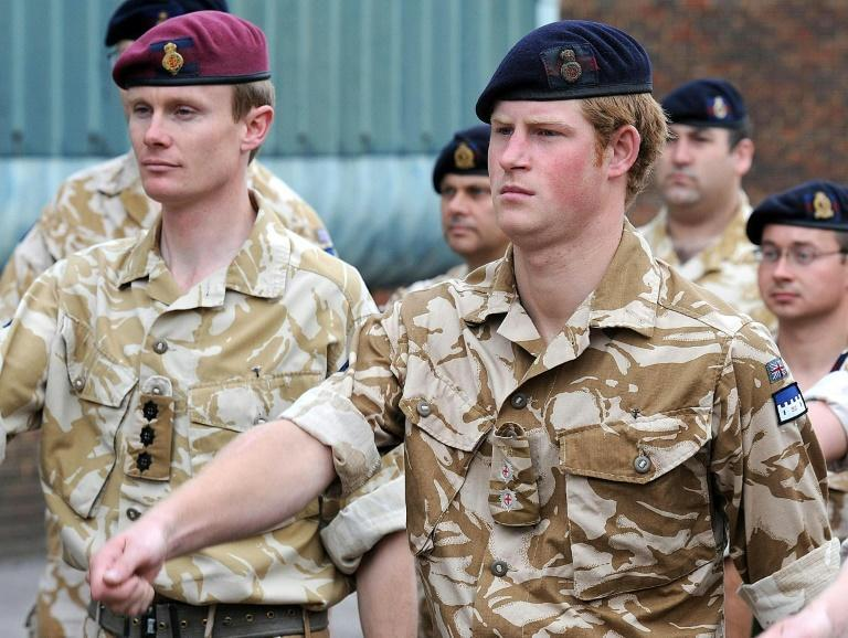 Prince Harry, a former soldier who served with the British Army in Afghanistan, holds several honorary military titles related to the Royal Marines, air force and navy